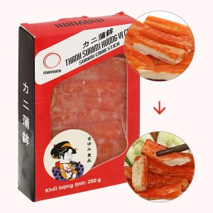 Thanh surimi hương vị cua Mayumi hộp 250g