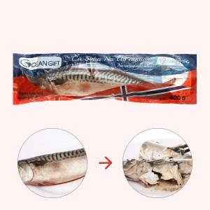 Cá saba Nauy nguyên con Oceangift gói 400g