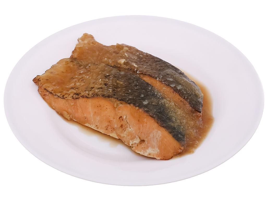 Cá hồi xốt Teriyaki Meiwa hộp 310g 7