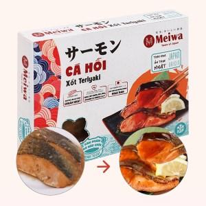 Cá hồi xốt Teriyaki Meiwa hộp 310g