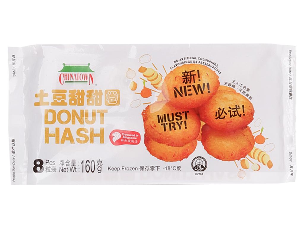 Bánh vòng khoai tây Chinatown gói 160g 1