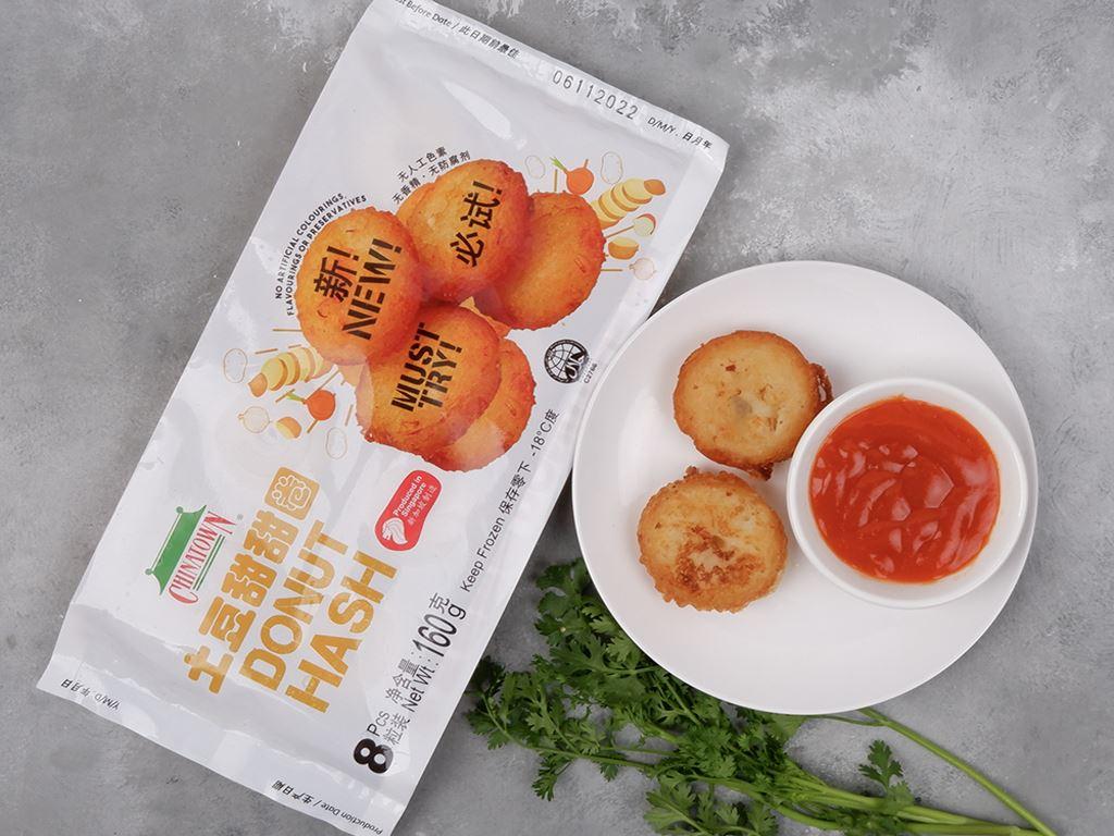 Bánh vòng khoai tây Chinatown gói 160g 2