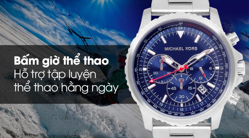 Đồng hồ nam Michael Kors MK8641 có tính năng bấm giờ thể thao
