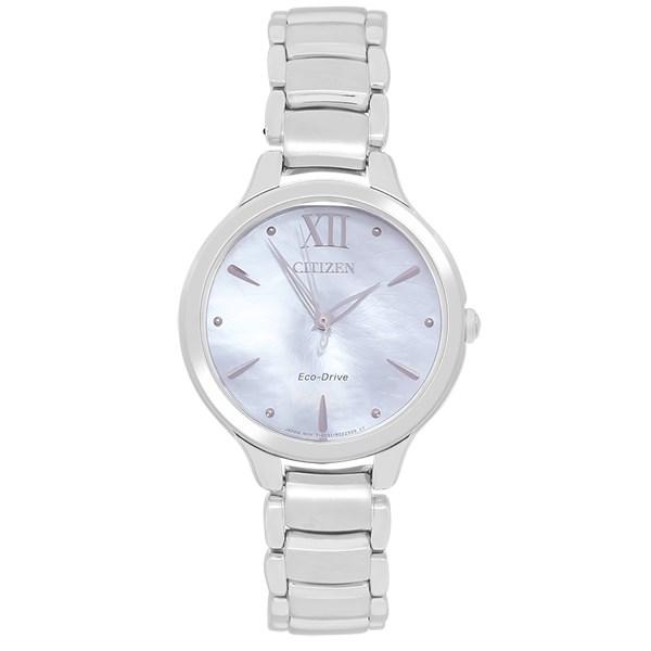 Đồng hồ Nữ Citizen EM0550-83N - Eco-Drive - Trắng