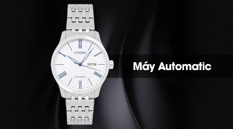 Đồng hồ nam Citizen NH8350-59B có máy automatic