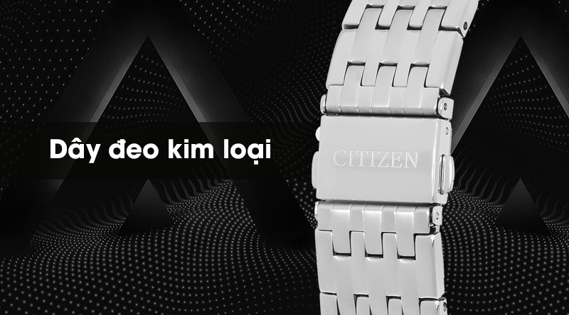 Đồng hồ nam Citizen NH8350-59B có dây đeo kim loại