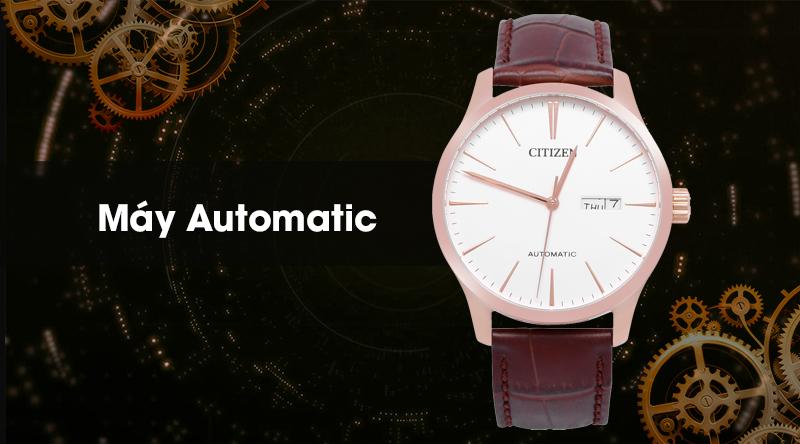Đồng hồ Nam Citizen NH8353-18A - Cơ tự động có máy Automatic