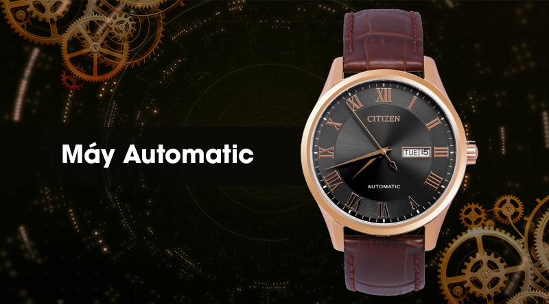 Đồng hồ Nam Citizen NH8363-14H - Cơ tự động có máy Automatic