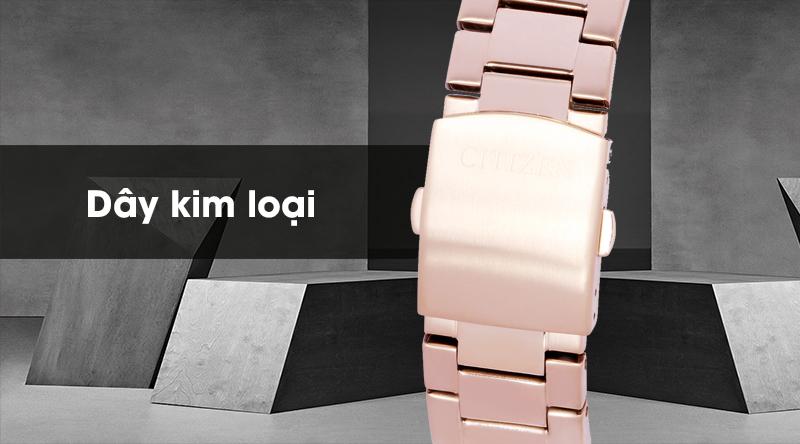 Đồng hồ Nam Citizen NH8373-88A - Cơ tự động có dây đeo bằng kim loại
