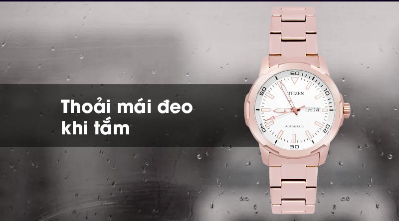 Đồng hồ Nam Citizen NH8373-88A - Cơ tự động chống nước 5 ATM