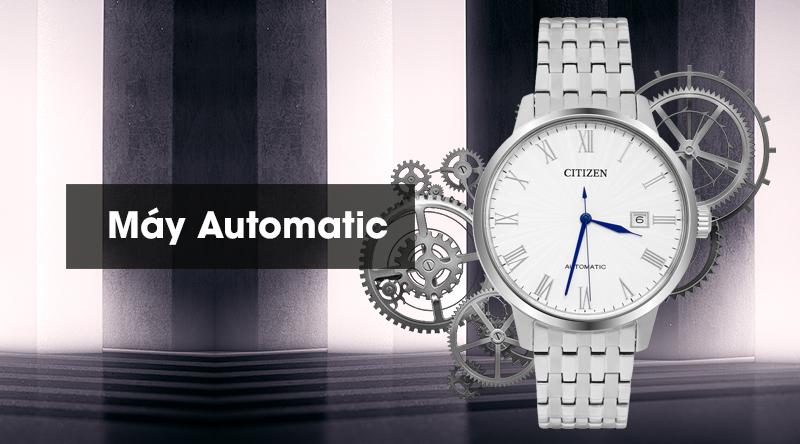 Đồng hồ Nam Citizen NJ0080-50A - Cơ tự động có máy cơ tự động