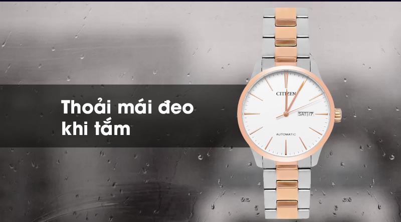 Đồng hồ Nam Citizen NH8356-87A - Cơ tự động khả năng chống nước tốt