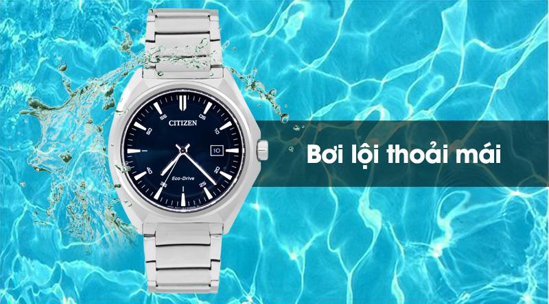 Đồng hồ Nam Citizen AW1570-87L đeo được khi bơi