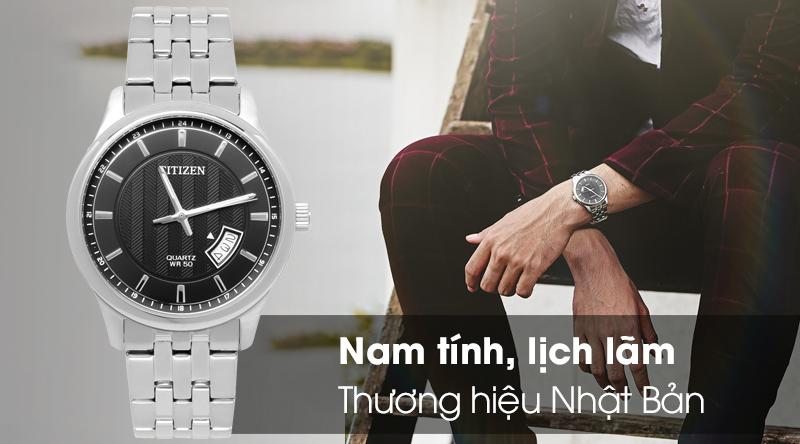 Đồng hồ nam Citizen BI1050-81E nam tính, lịch lãm