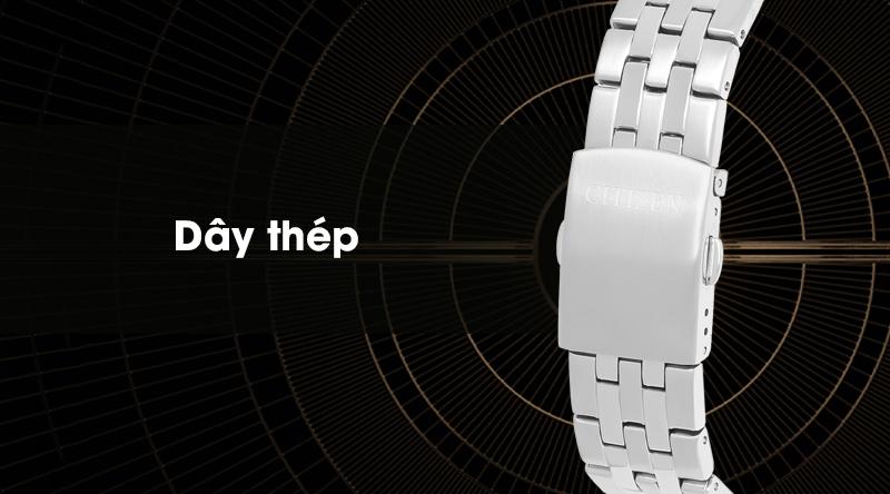 Đồng hồ nam Citizen BI1050-81E có dây đeo bằng thép