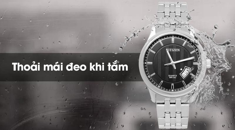 Đồng hồ nam Citizen BI1050-81E thoải mái đeo khi tắm