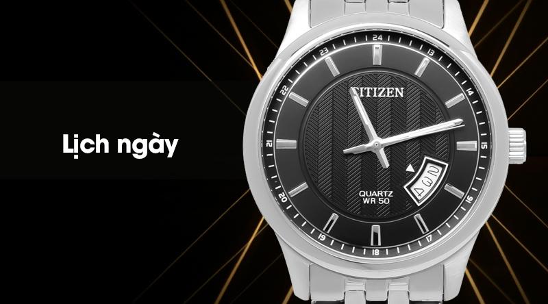 Đồng hồ nam Citizen BI1050-81E có lịch ngày