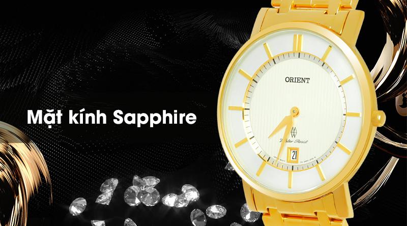 Đồng hồ Nam Orient FGW01001W0 có mặt kính chống trầy xước