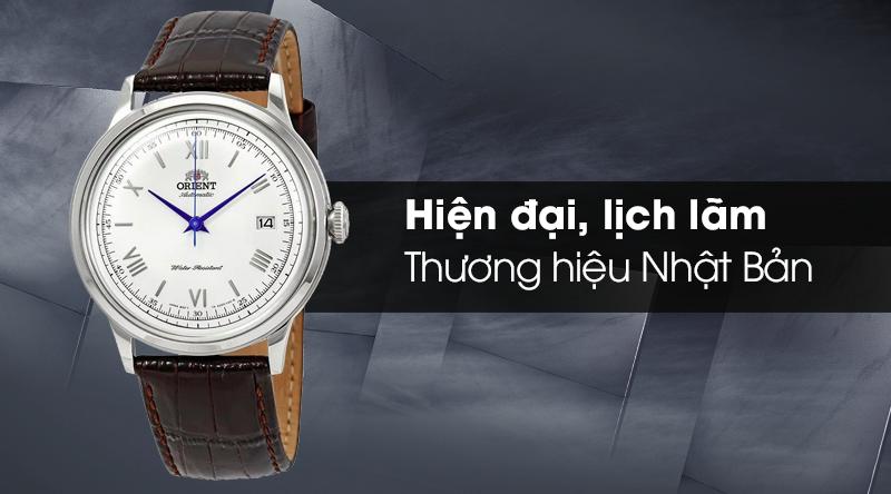 Đồng hồ nam Orient FAC00009W0 - Cơ tự động có thiết kế nam tính