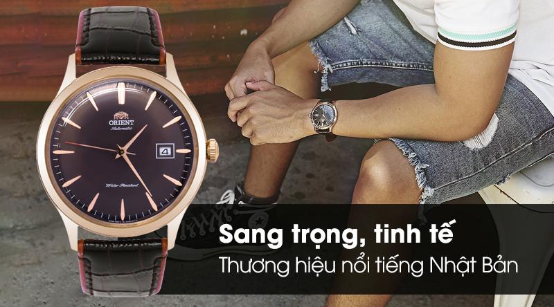 Đồng hồ Nam Orient FAC08001T0 - Cơ tự động thiết kế tinh tế