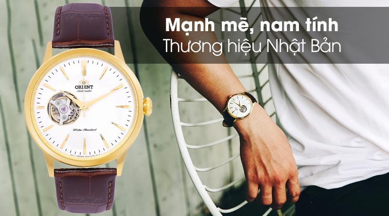 Đồng hồ nam Orient RA-AG0003S10B - Cơ tự động với thiết kế mạnh mẽ, nam tính
