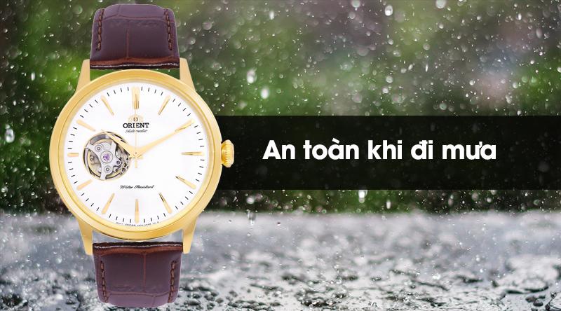 Đồng hồ nam Orient RA-AG0003S10B - Cơ tự động sở hữu độ chống nước 3 ATM