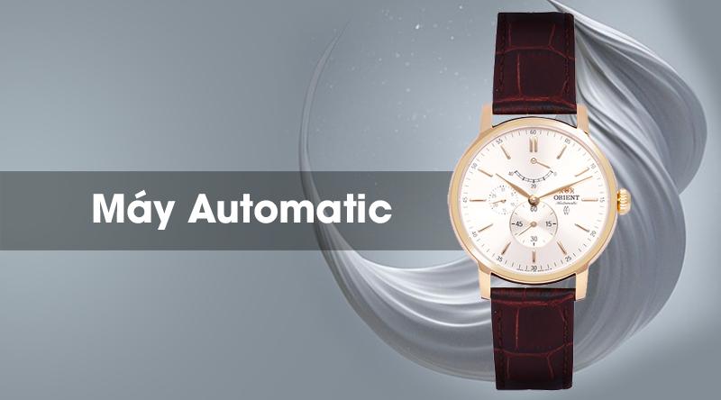 Đồng hồ nam Orient FEZ09002S0 được trang bị bộ máy Automatic hiện đại