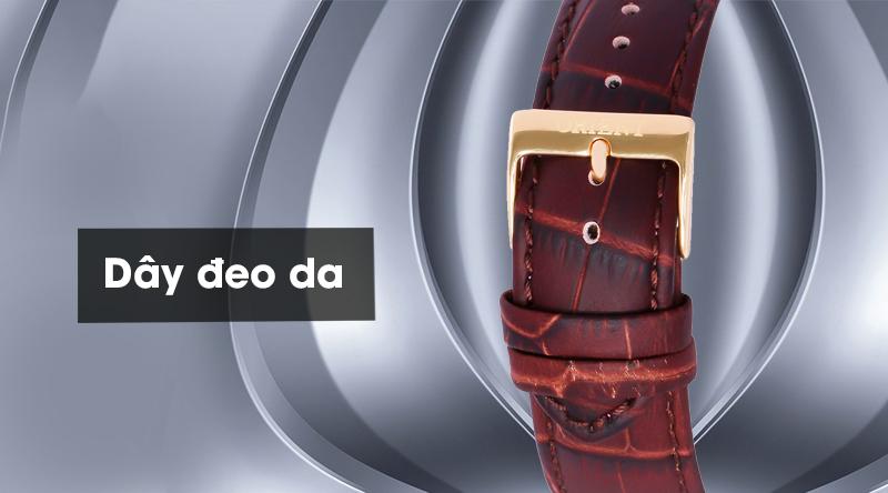 Đồng hồ nam Orient FEZ09002S0 có dây đeo chắc chắn, tạo cảm giác thoải mái khi mang
