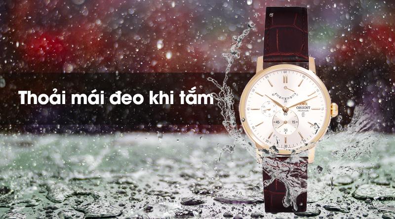 Đồng hồ nam Orient FEZ09002S0 có khả năng chống nước khá tốt