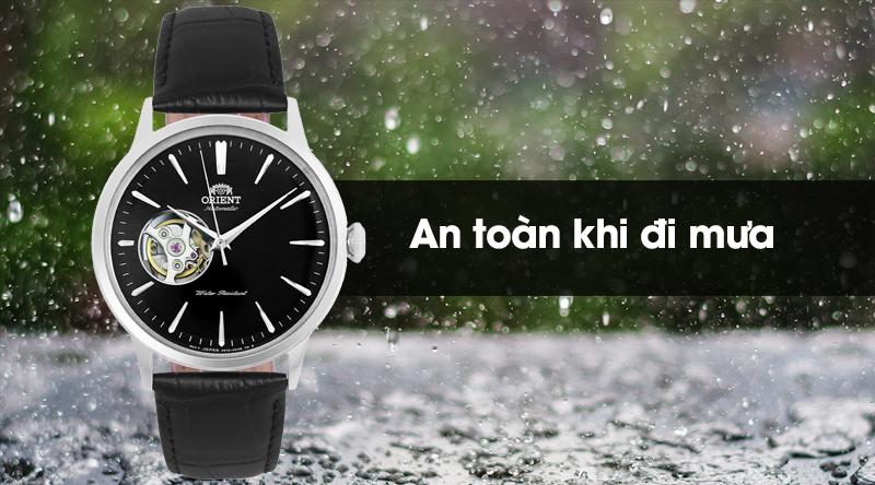 Đồng hồ nam Orient RA-AG0004B10B có hệ số chống nước 3 ATM