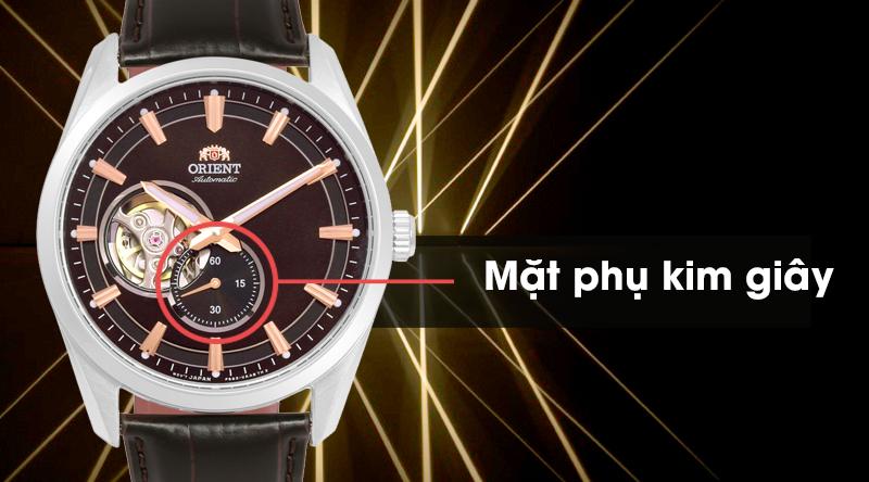 Đồng hồ nam Orient RA-AR0005Y10B có mặt phụ kim giây tiện lợi