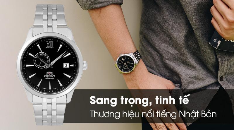 Đồng hồ Nam Orient FAL00002B0 thiết kế nam tính và sang trọng