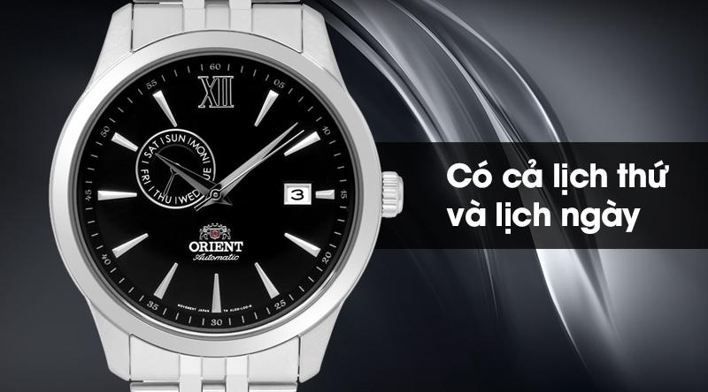 Đồng hồ Nam Orient FAL00002B0 có tiện ích lịch thứ, ngày
