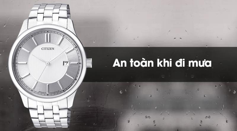 Đồng hồ nam Citizen BI1050-56A có hệ số chống nước 3 ATM