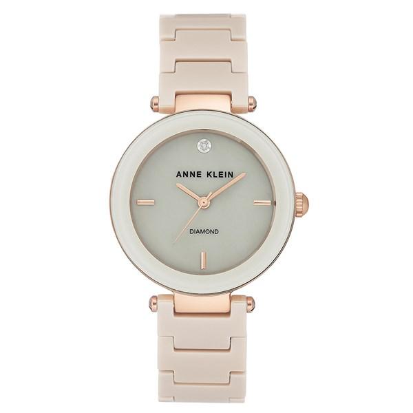 Đồng hồ Nữ Anne Klein AK/1018RGTN - Đính kim cương
