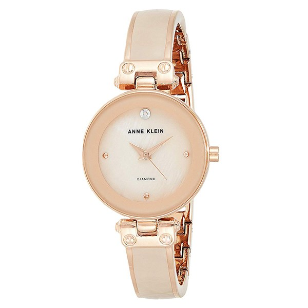 Đồng hồ Nữ Anne Klein AK/1980BMRG - Đính kim cương