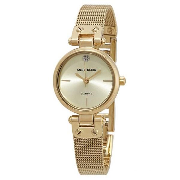 Đồng hồ Nữ Anne Klein AK/3002CHGB - Đính kim cương