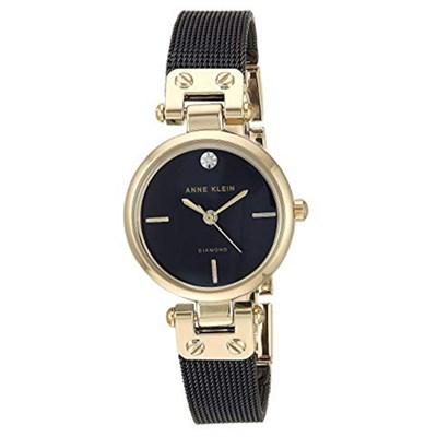 Đồng hồ Nữ Anne Klein AK/3003BKBK - Đính kim cương