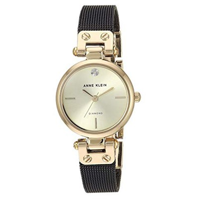 Đồng hồ Nữ Anne Klein AK/3003CHBK - Đính kim cương