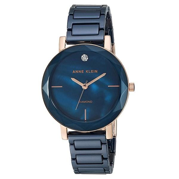 Đồng hồ Nữ Anne Klein AK/3364NVRG - Đính kim cương