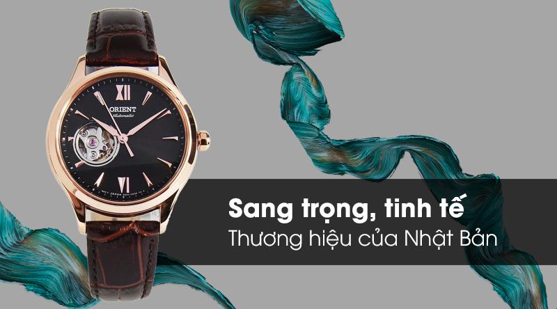 Đồng hồ nữ Orient RA-AG0023Y10B - Cơ tự động có thiết kế trẻ trung