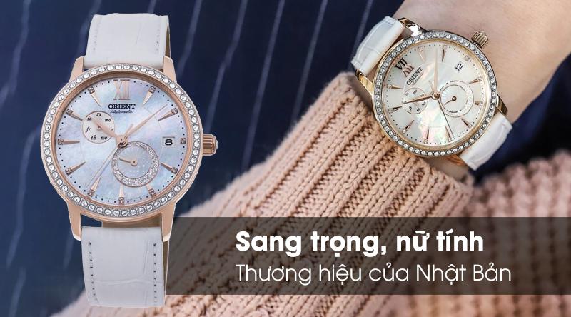 Đồng hồ nữ Orient RA-AK0004A10B - Cơ tự động có thiết kế nữ tính