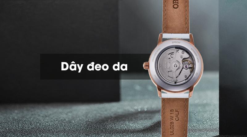 Đồng hồ nữ Orient RA-AK0004A10B - Cơ tự động có dây đeo mềm mại