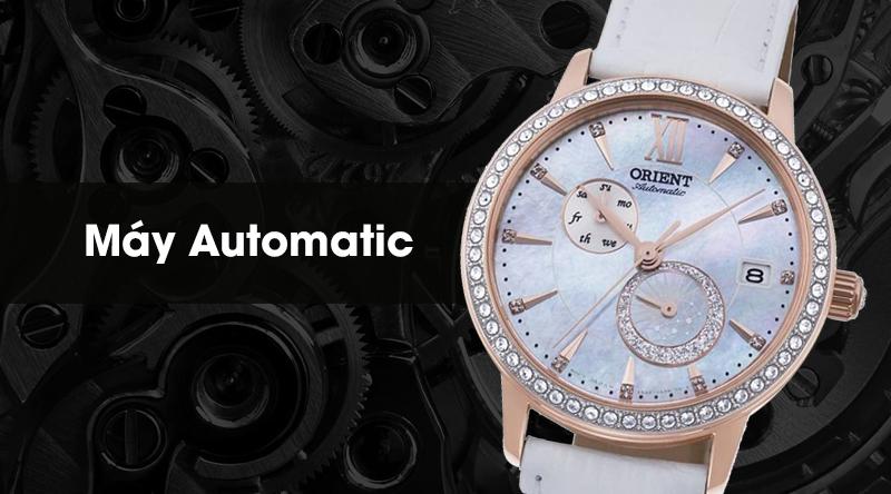 Đồng hồ nữ Orient RA-AK0004A10B - Cơ tự động được trang bị bộ máy Automatic có tuổi thọ cao