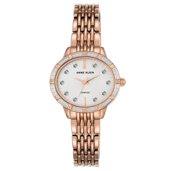 Đồng hồ Nữ Anne Klein AK/2782SVRG - Đính kim cương