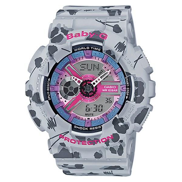 Đồng hồ Nữ Baby-G BA-110FL-8ADR