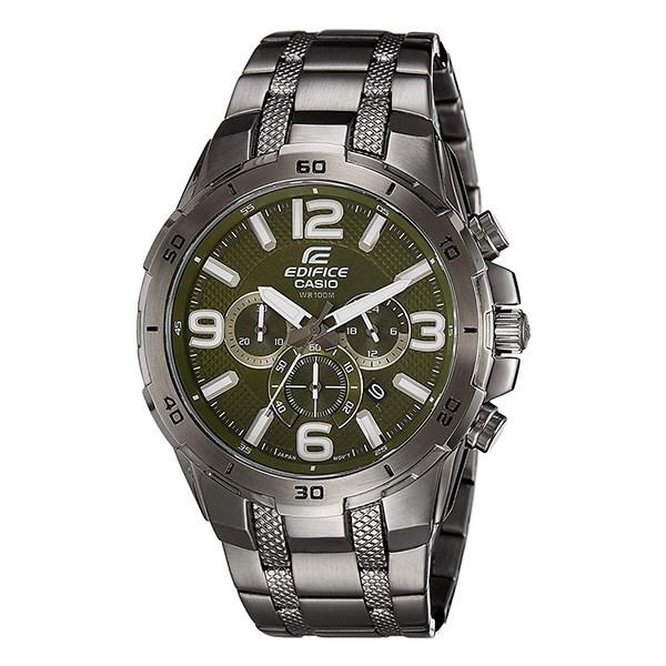 Đồng hồ Nam Edifice Casio EFR-538BK-3AVUDF