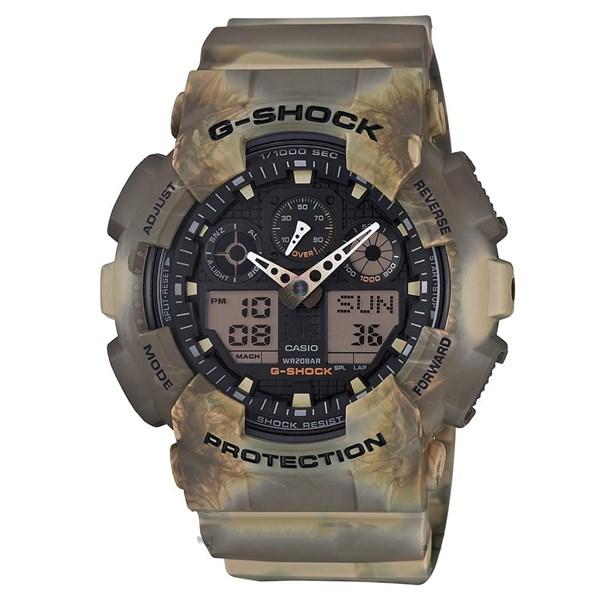 Đồng hồ Nam G-Shock GA-100MM-5ADR