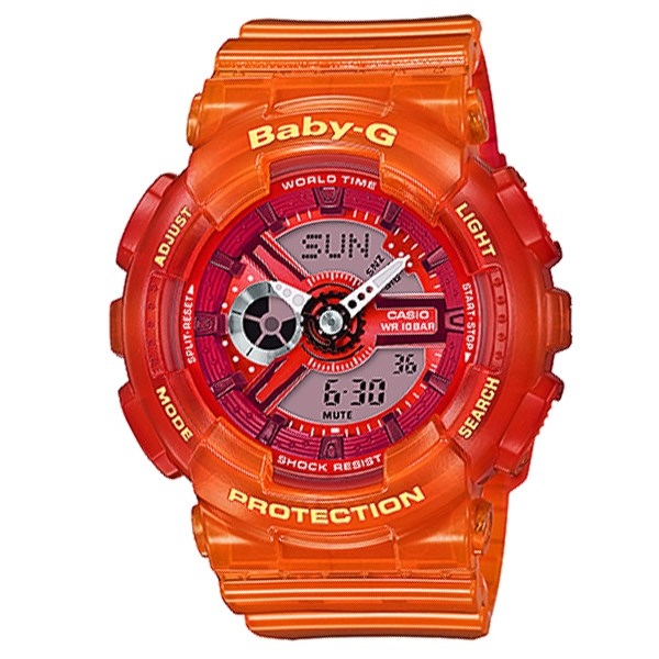 Đồng hồ Nữ Baby-G BA-110JM-4ADR