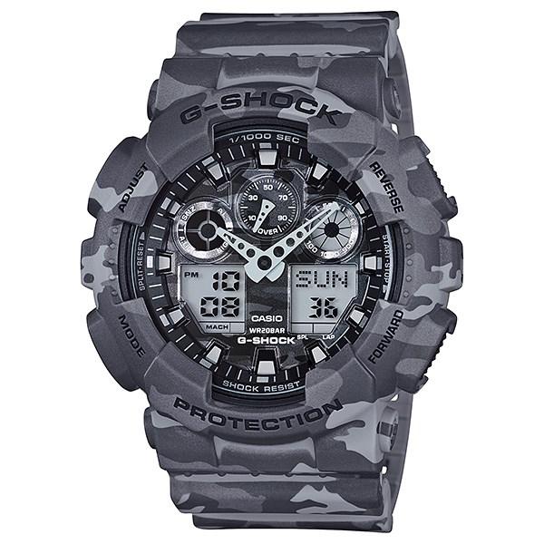 Đồng hồ Nam G-Shock GA-100CM-8ADR